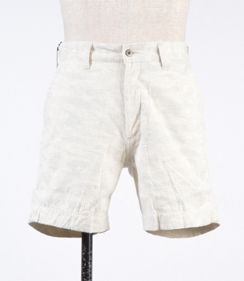 KURO クロ SHADOW CAMO CHINO SHORTS