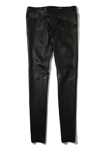 Rags McGREGOR KNEE SLIT LEATHER PANTS