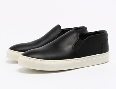 F.S.Z エフ・エス・ゼット LUXES LEATHER SLIP-ON