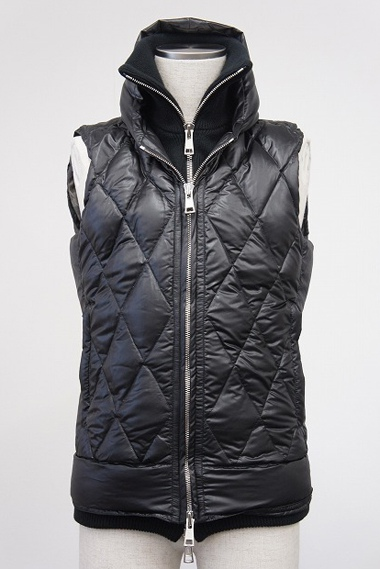 AKM エイケイエム B083 PET013 DIA-SKI DOWN VEST