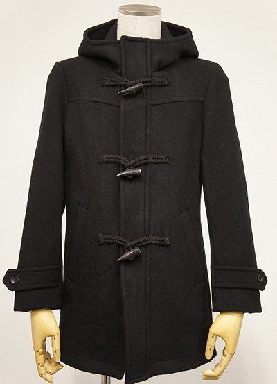 Lounge Lizard ラウンジリザード No.5577 SUPER 100's MELTON DUFFLE COAT