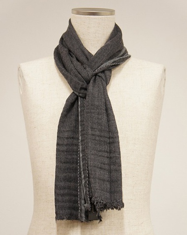 LOUNGE LIZARD ラウンジリザード No.9215 VIRGIN WOOL STOLE MADE IN ITALY