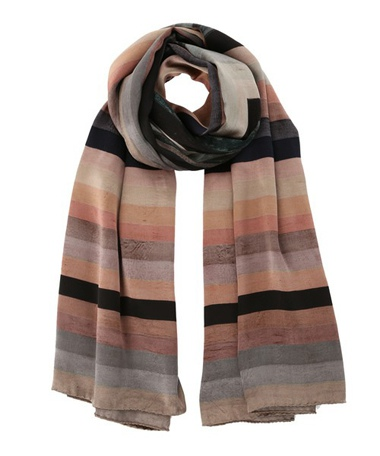 Paul Smith ポールスミス SQUARE STRIPE SCARF / 250402 545C