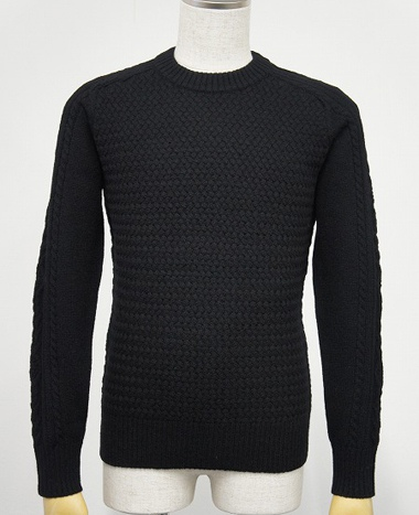 LOUNGE LIZARD ラウンジリザード No.2412 HUSH CREW NECK SWEATER