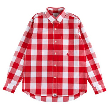 "Sync シンク L/S CHECK B.D.SHIRT ""AMPERSAND"""
