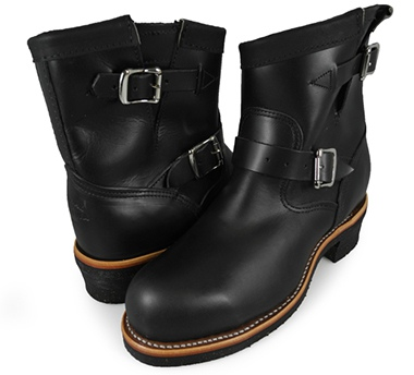 CHIPPEWA チペワ BLACK Engineer Boots