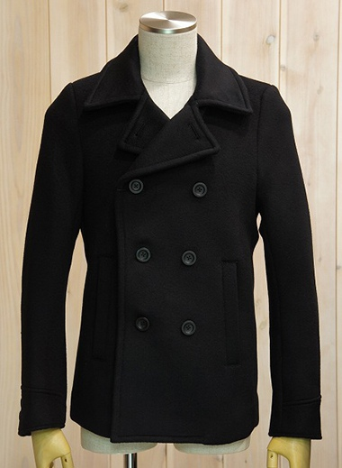 LOUNGE LIZARD ラウンジリザード No.5570 SUPER 100's DOUBLE MELTON PEA COAT