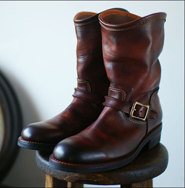 moto leather&silver モトレザー Engineer Boots