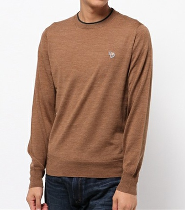 Paul Smith JEANS ポールスミスジーンズ ZEBRA WEPPEN CREW-NECK SWEATER