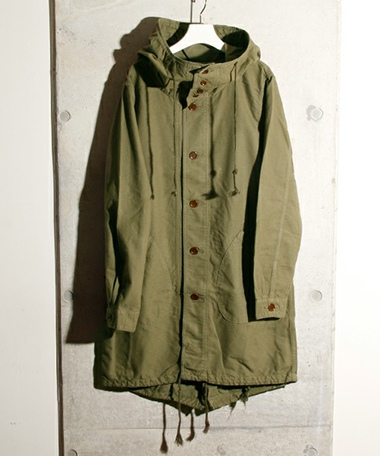 GYPSY&SONS ジプシーアンドサンズ BRUSHED OX MODS COAT GS1529909