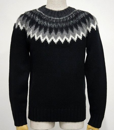 LOUNGE LIZARD ラウンジリザード No.2428 MODENA CREW NECK SWEATER