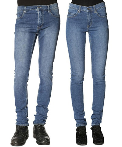 CHEAP MONDAY チープマンデー Tight Base Dark Blue