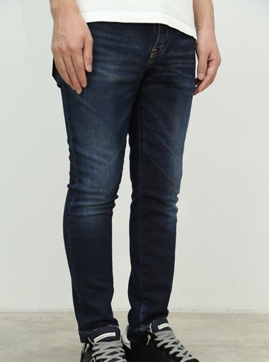 1PIU1UGUALE3 SWEAT DENIM ANKLE SLIM