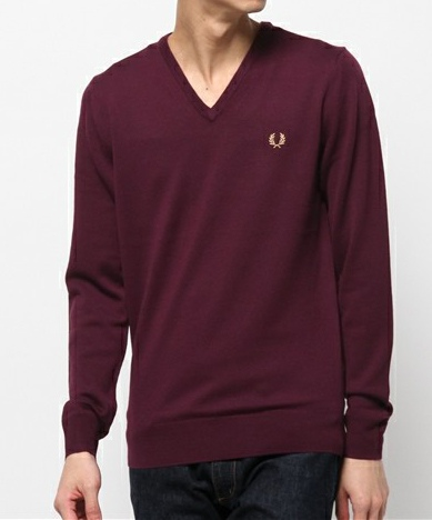FRED PERRY フレッドペリー Classic V Neck Sweater
