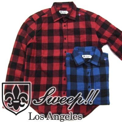 Sweep!! スウィープ BUFFALO CHECK SHIRT