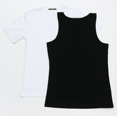 SHELLAC HOMME シェラックオム HOMME 2PACK Tシャツ&タンクトップ