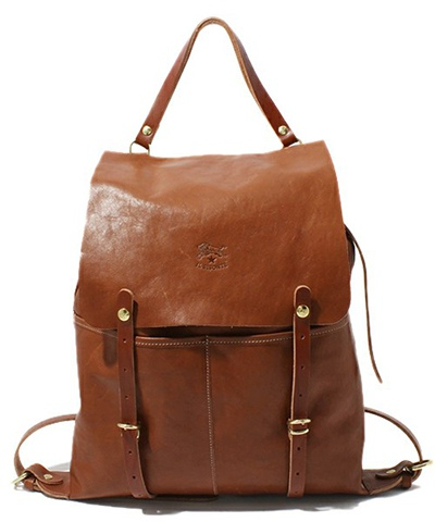 IL BISONTE イルビゾンテ SOFT LEATHER / BACKPACK