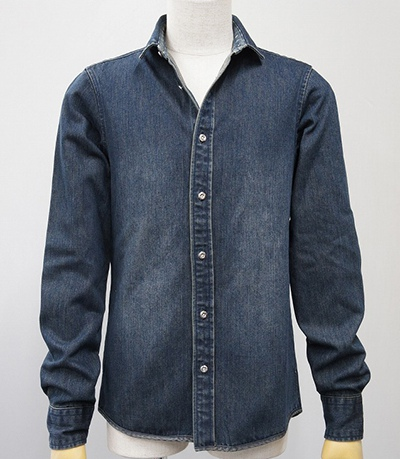 attack the mind 7 アタックザマインド7 INDIGO DENIM SHIRT