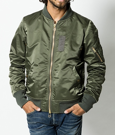 TMT ティーエムティー L2B TYPE FLIGHT JACKET