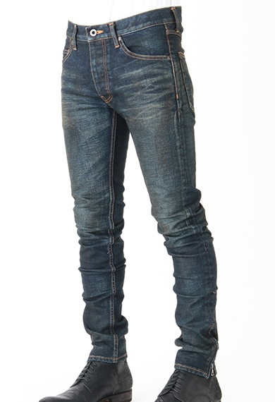 ISAMU KATAYAMA BACKLASH イサムカタヤマバックラッシュ Super Skinny Stretch Denim