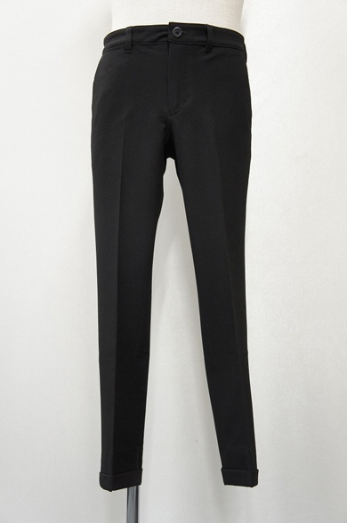 LOUNGE LIZARD ラウンジリザード No.6831 T/R 40/2 TWILL 2WAY STRETCH TROUSERS