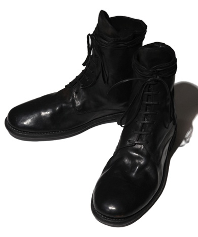 GUIDI グイディ 995 Horse Full Grain 8 Hole Lace-Up Boot
