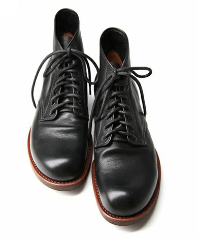 MR.OLIVE ミスターオリーブ WATER PROOF SHIRINK LEATHER / SEVEN HOLE HUNTING BOOTS