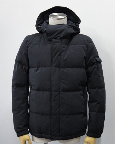 LOUNGE LIZARD ラウンジリザード No.5638 SOFT TOUCH MICRO WEATHER FOODED JACKET