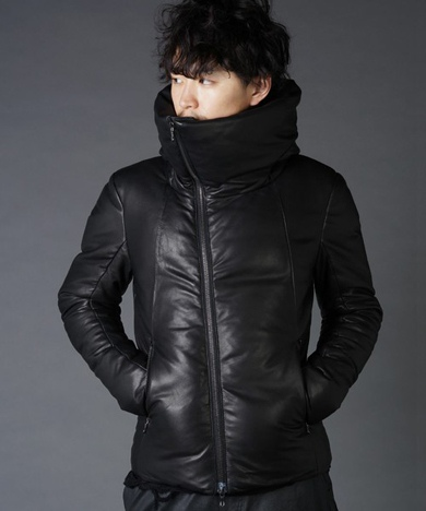 SHELLAC シェラック Big Hooded Down Jacket