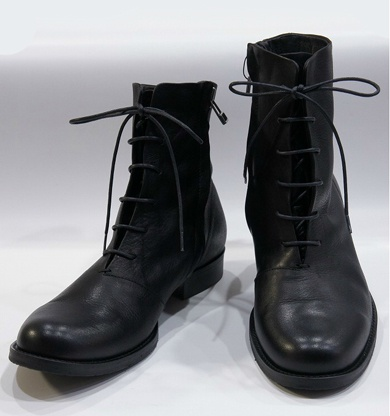 LOUNGE LIZARD ラウンジリザード No.9295 BY marchercher SIDE ZIP RACE UP BOOTS