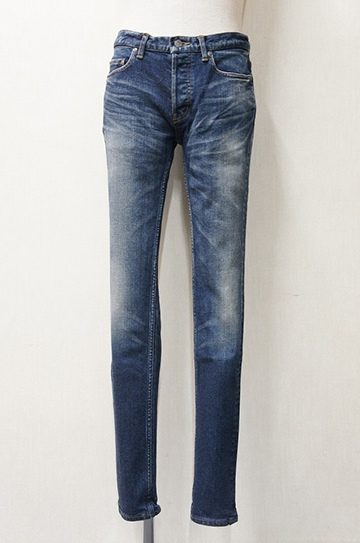 "LOUNGE LIZARD ラウンジリザード No.6837 13oz STRETCH DENIM × SHAVING ""SKINNY LEG"""