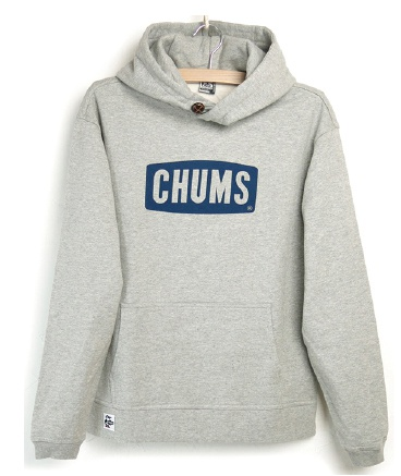 CHUMS チャムス Logo Pullover Parka