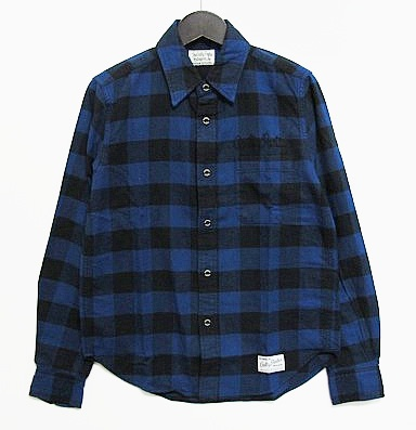 WACKO MARIA ワコマリア BLOCK CHECK SHIRT ( TYPE-2 )