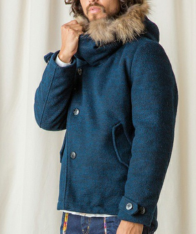 rehacer リーチャー Thick Mods Coat