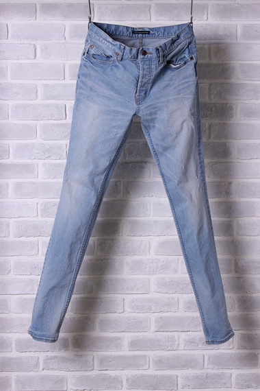 "LOUNGE LIZARD ラウンジリザード No.6849 HIPOWER STRETCH DENIM × SHAVING ""SKINNY LEG"""