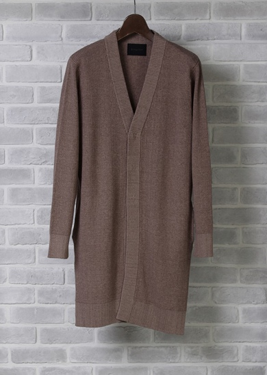 LOUNGE LIZARD ラウンジリザード No.2482 ECOS LONG CARDIGAN