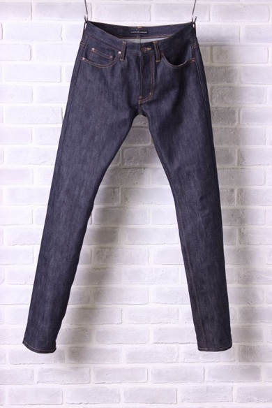 LOUNGE LIZARD ラウンジリザード 6847 STRETCH SELVEDGE x NONWASH スーパースリム
