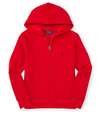 Ralph Lauren ラルフローレン COTTON-BLEND-FLEECE HOODIE