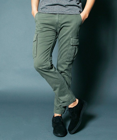 Magine マージン SULFUR STRETCH TIGHT CARGO PANTS
