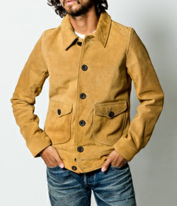 TMT ティーエムティー SUEDE COW LEATHER JACKET