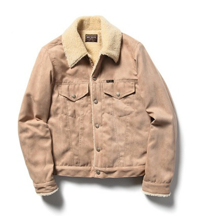 MR.OLIVE ミスターオリーブ DOUBLE FACE FAKE SUEDE × BOA / TYPE THIRD JACKET