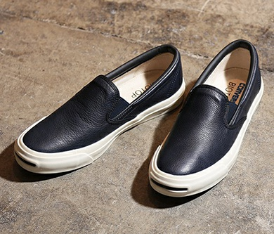 converse コンバース JACK PURCELL LEATHER SLIP-ON