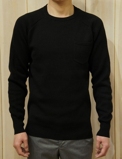 LOUNGE LIZARD ラウンジリザード No.2484 RAFFY BASIC KNIT PULLOVER